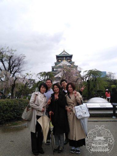 大阪城お散歩ツアー