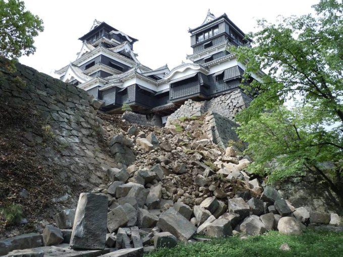 震災後 熊本城