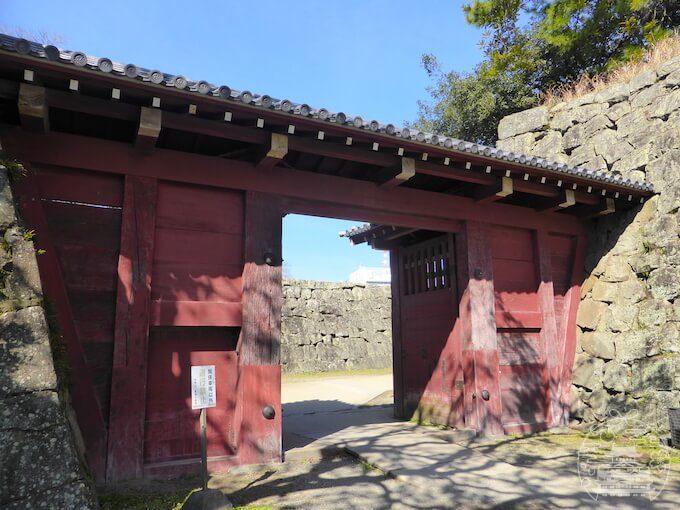和歌山城 追廻門